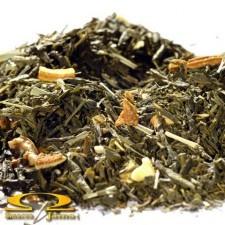 Herbata Liściasta Sencha Lemon Sicilia 100g