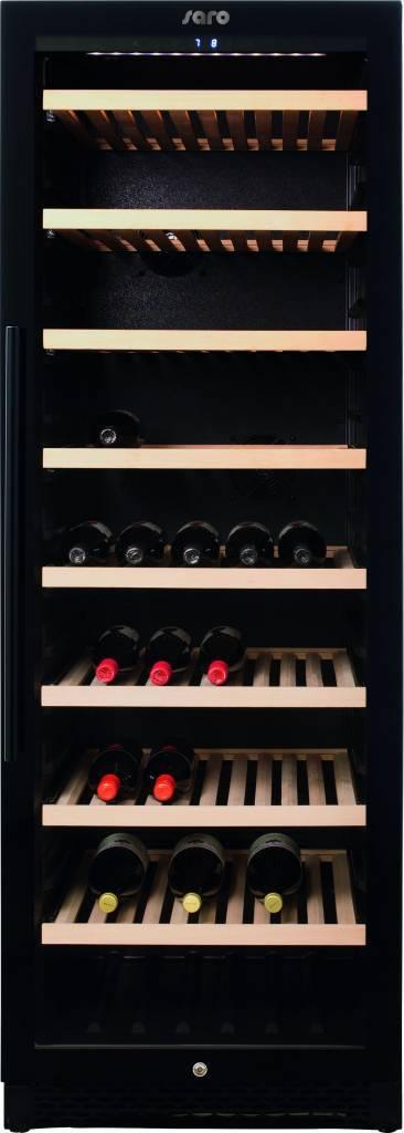 Wentylowana chłodziarka do wina WK 162 162 butelki 397L +5/+20 C 154W 230V 595x710x(H)1720mm