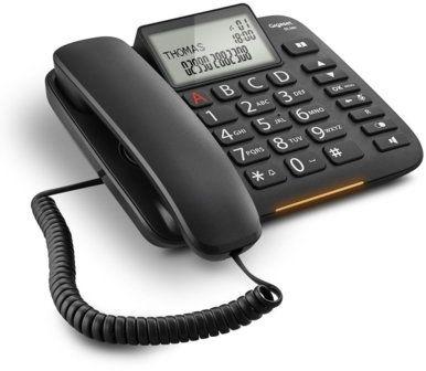 Telefon stacjonarny GIGASET DL380 Czarny. Kup taniej o 40 zł w Klubie