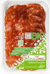 Salami piccante plastry bezglutenowe bio 70 g - primavera