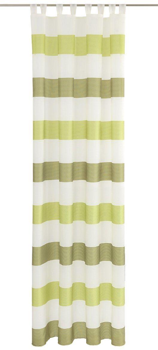 Dekoracyjna zasłona ze szlufkami, tkanina, kolorowa