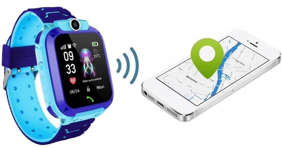 SmartWatch z Lokalizatorem GPS - Dla Dziecka... + Telefon + Nasłuch + Kamera + SOS + Dotyk. Ekran...