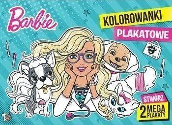 Barbie. Kolorowanki plakatowe - praca zbiorowa