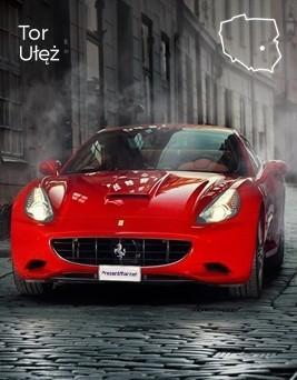 Jazda za kierownicą Ferrari California  Tor Ułęż