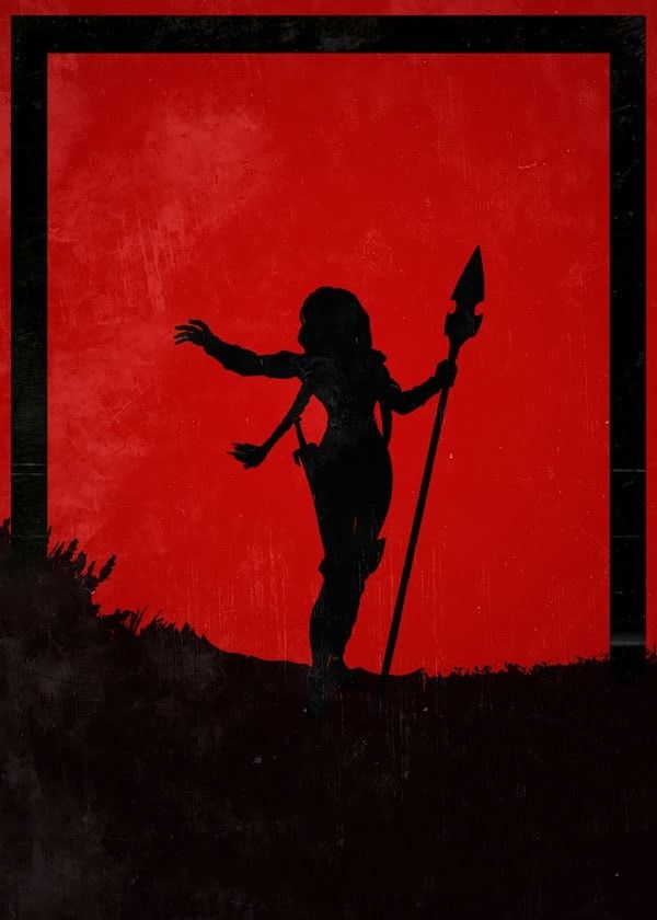 For honor - valkyrie - plakat wymiar do wyboru: 21x29,7 cm
