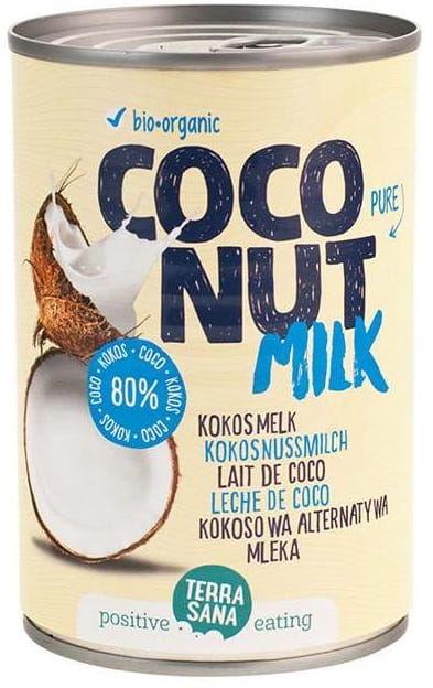 Kokosowa Alternatywa Mleka 22% Tłuszczu BIO 400g - Terrasana