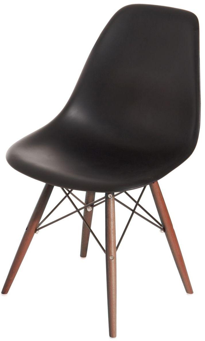 D2 Krzesło P016W PP czarne/dark