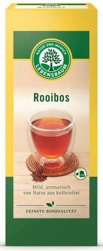 Herbata ROOIBOS ekspresowa BIO (20x1,5g) Lebensbaum