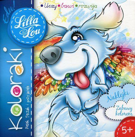 Lilla Lou Edu! Koloraki Piesek Tęczak i przyjaciele