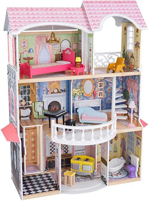 KidKraft 65907 domek dla lalek Magnolia Mansion, kolorowy