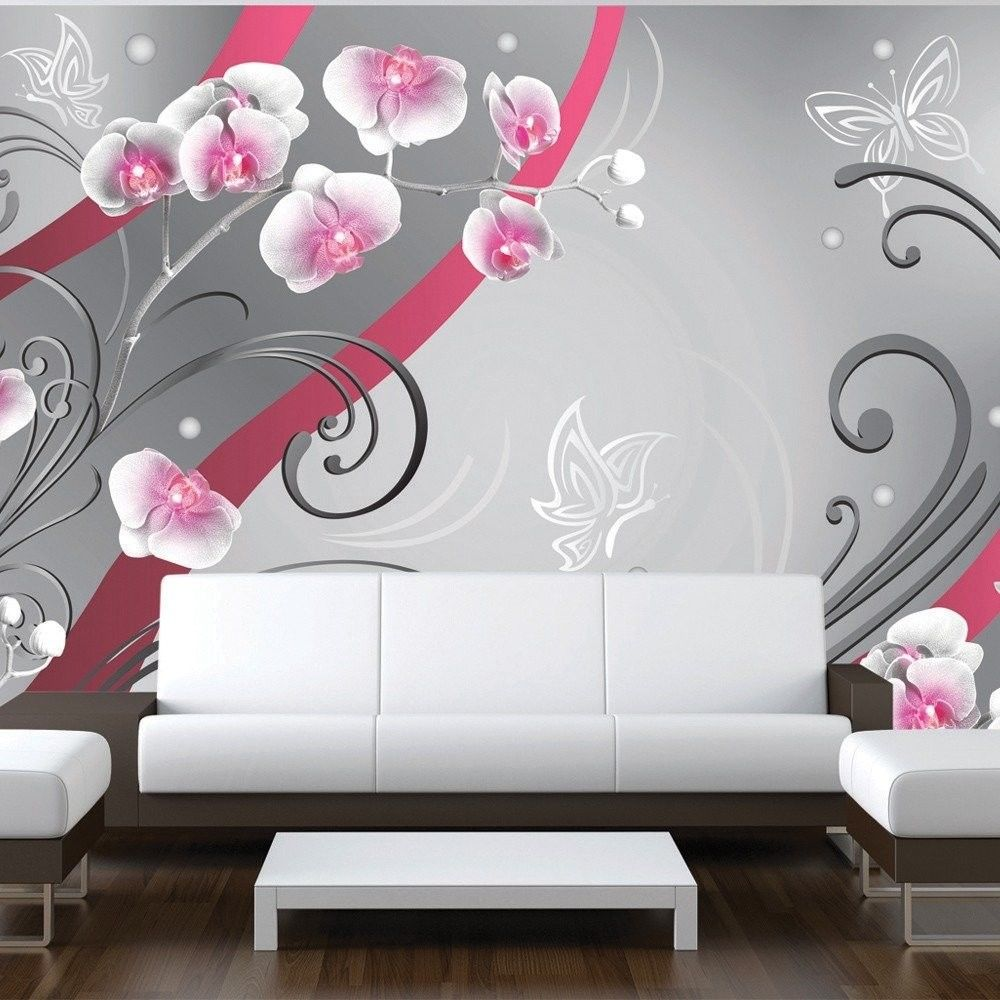 Fototapeta - różowe orchidee - wariacja