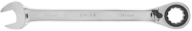 Klucz płasko-oczkowy z grzechotką i przełącznikiem 30mm 09-341
