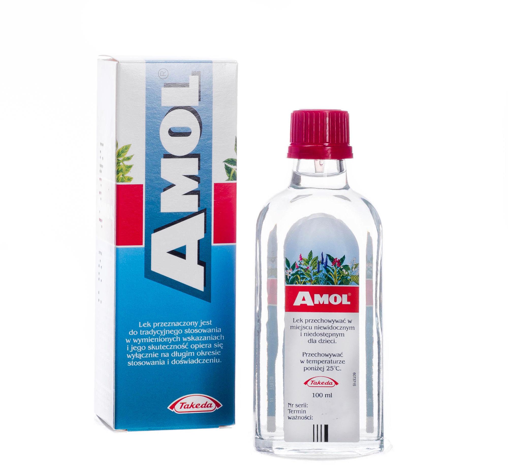 Amol lek ziołowy w płynie, 100 ml