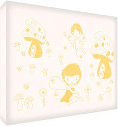 Feel Good Art fairyland1216  01It obraz na płótnie ściana Medio (40 x 30 x 4 cm) żółty