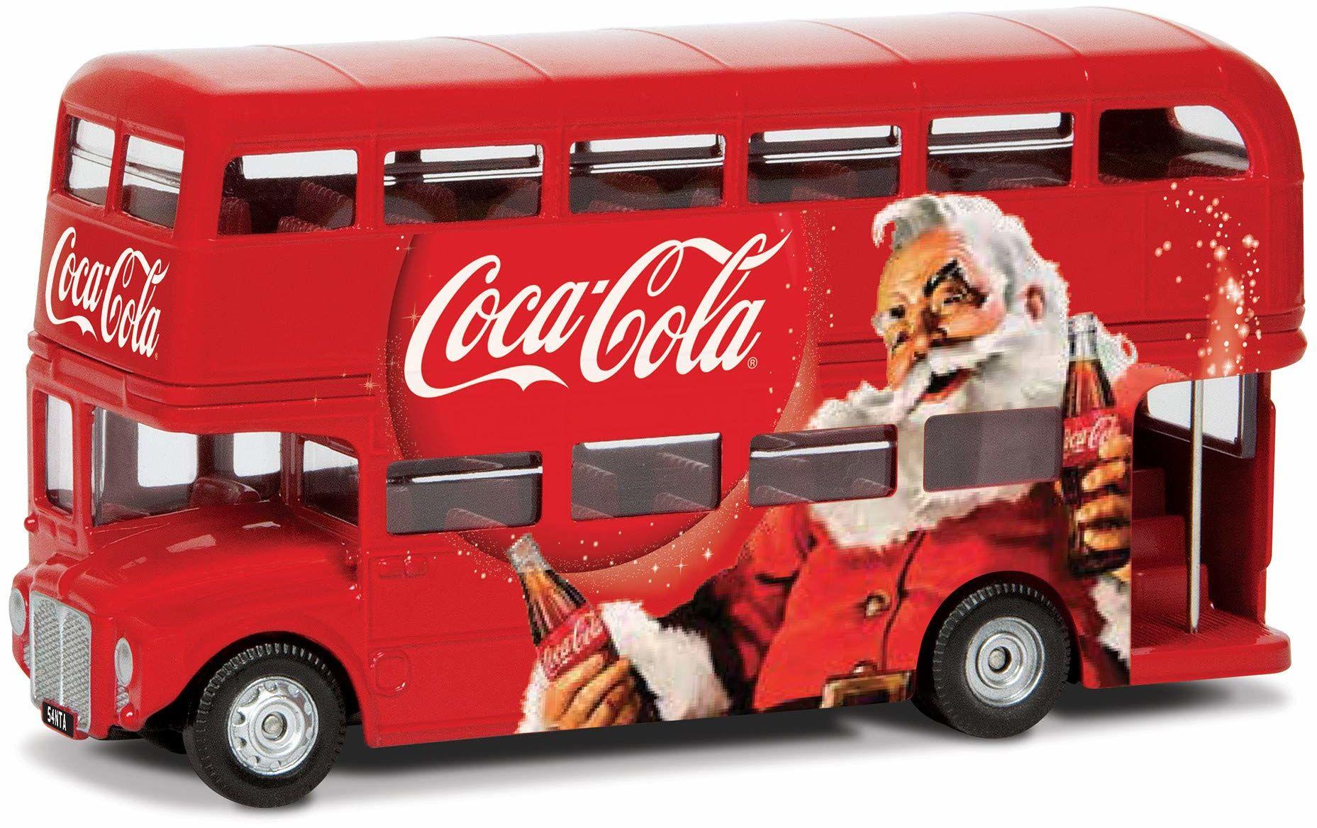 Corgi GS82331 Coca Cola - świąteczny autobus Londyn Classic