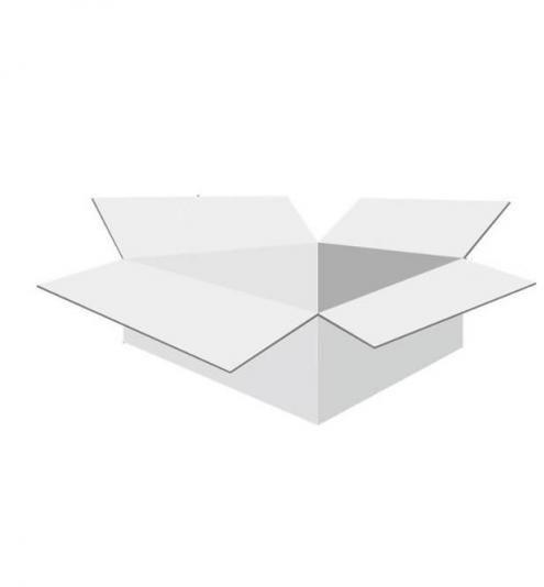 Karton klapowy tekt 3 - 160 x 135 x 70 biały 470g/m2 fala B