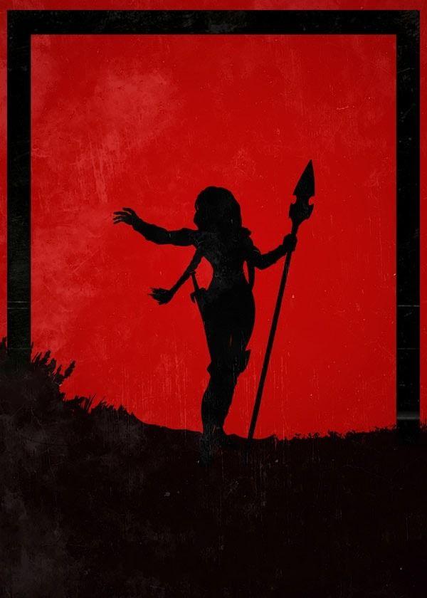 For honor - valkyrie - plakat wymiar do wyboru: 42x59,4 cm