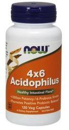 Acidophilus 4x6 (Now Foods) 120 kaps.