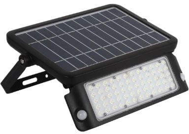 Naświetlacz LED SOLARNY MHC 10W biały neutralny z czujnikiem ruchu