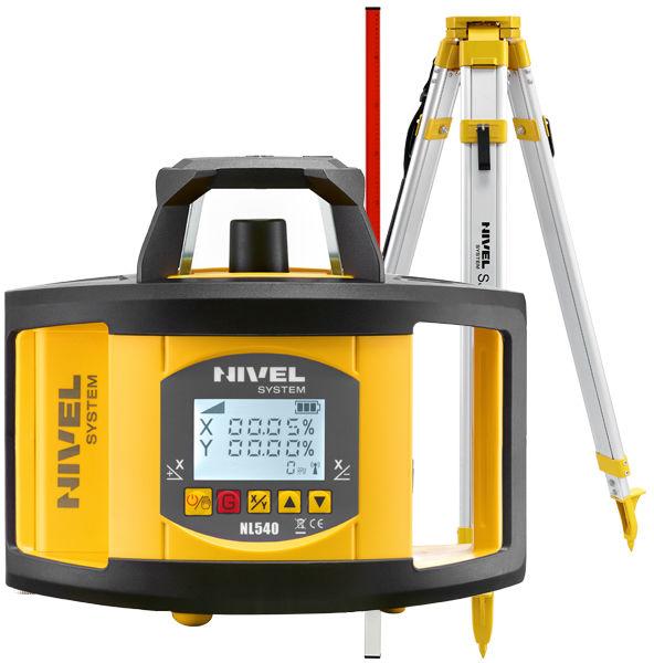 Niwelator laserowy Nivel System NL540 + statyw + łata