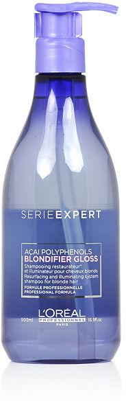 Loreal Blondifier Gloss Szampon nabłyszczający do włosów blond 500 ml