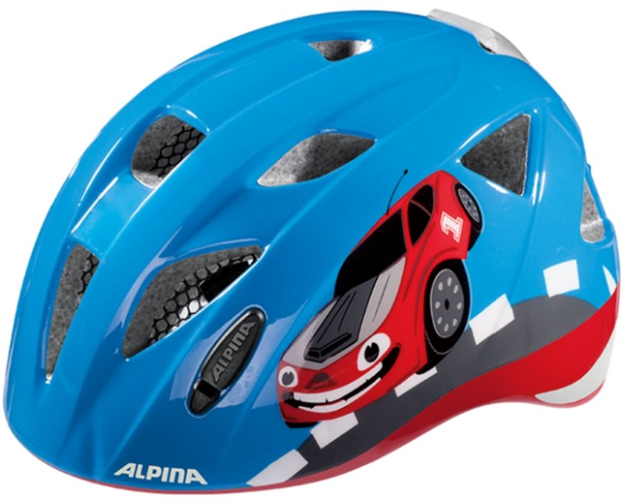 ALPINA Kask rowerowy dziecięcy XIMO FLASH RED CAR Rozmiar: 49-54,ximoflashredcar