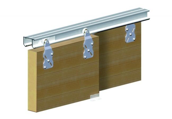 Zestaw do drzwi przesuwnych (mijane) HORUS 1500 mm