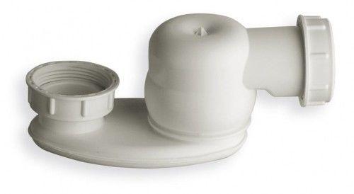 Półsyfon niski 1''1/2, wysokość 42mm, biały
