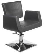 Fotel fryzjerski Vito BH-8802 szary