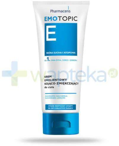 Pharmaceris E Emotopic krem emolientowy kojąco-zmiękczający do ciała 200 ml emolient