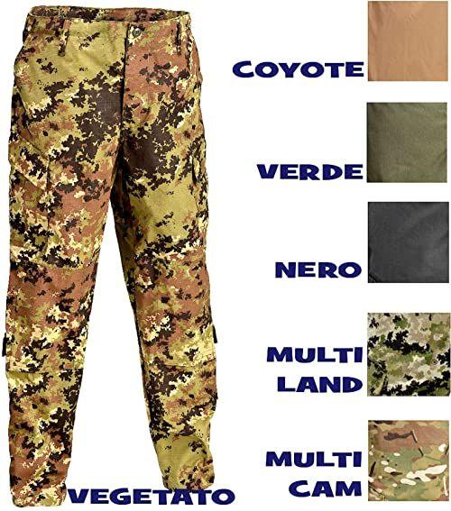 Defcon 5 BDU spodnie taktyczne, D5-1600 czarny czarny XX-L