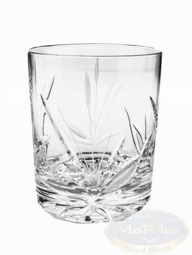 Kryształowe szklanki do whisky 350 ml Mrożony Liść