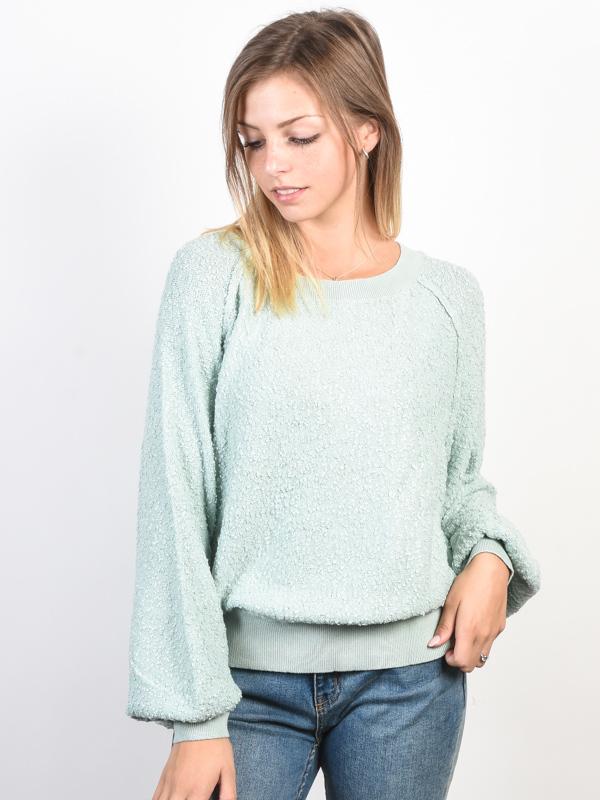 Billabong EASY RIDER blue mist damski sweter projektant - S