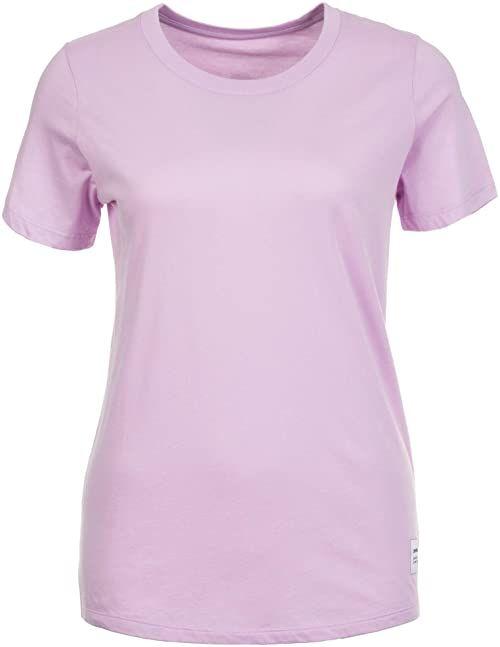 Converse Essentials T-shirt damski fioletowy liliowy L