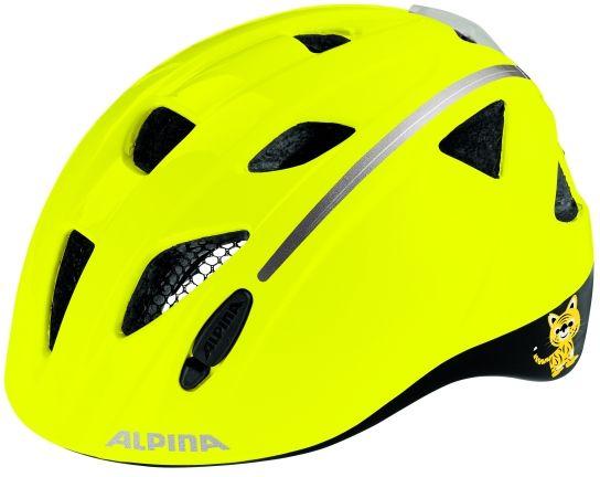 ALPINA Kask rowerowy dziecięcy XIMO FLASH BE VISIBLE Rozmiar: 49-54,ximoflashbevisible