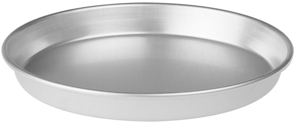 Pentole Agnelli FAMA43 / 322 stożkowa forma do ciasta z krawędzią, aluminium, 22 x 22 x 3 cm