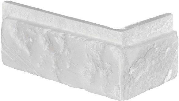 Narożnik dekoracyjny Modena z fugą biały 0,60 mb