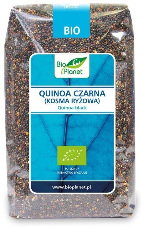 Quinoa Czarna Komosa Ryżowa 500g - Bio Planet - EKO - 500g