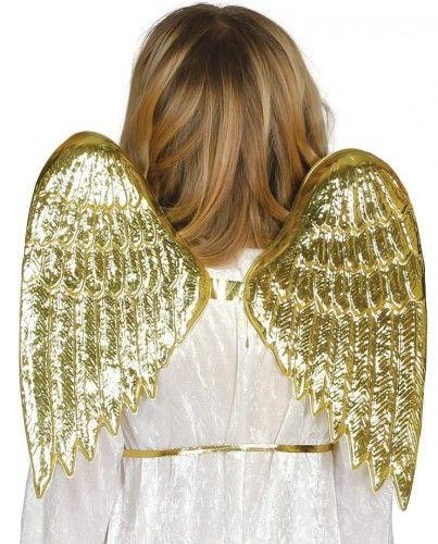 Skrzydła Aniołka, złote