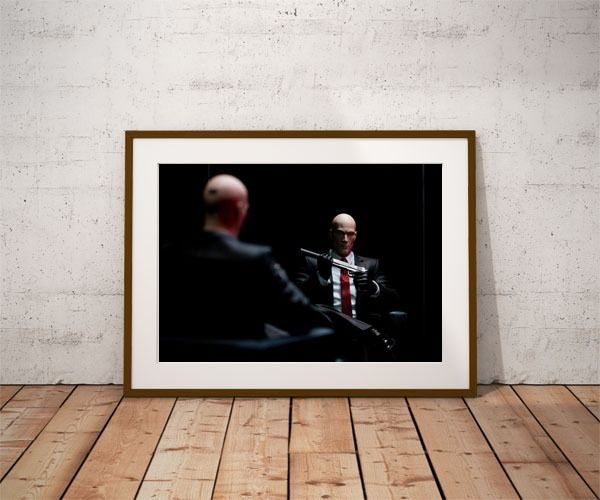 Hitman ver1 - plakat wymiar do wyboru: 20x30 cm