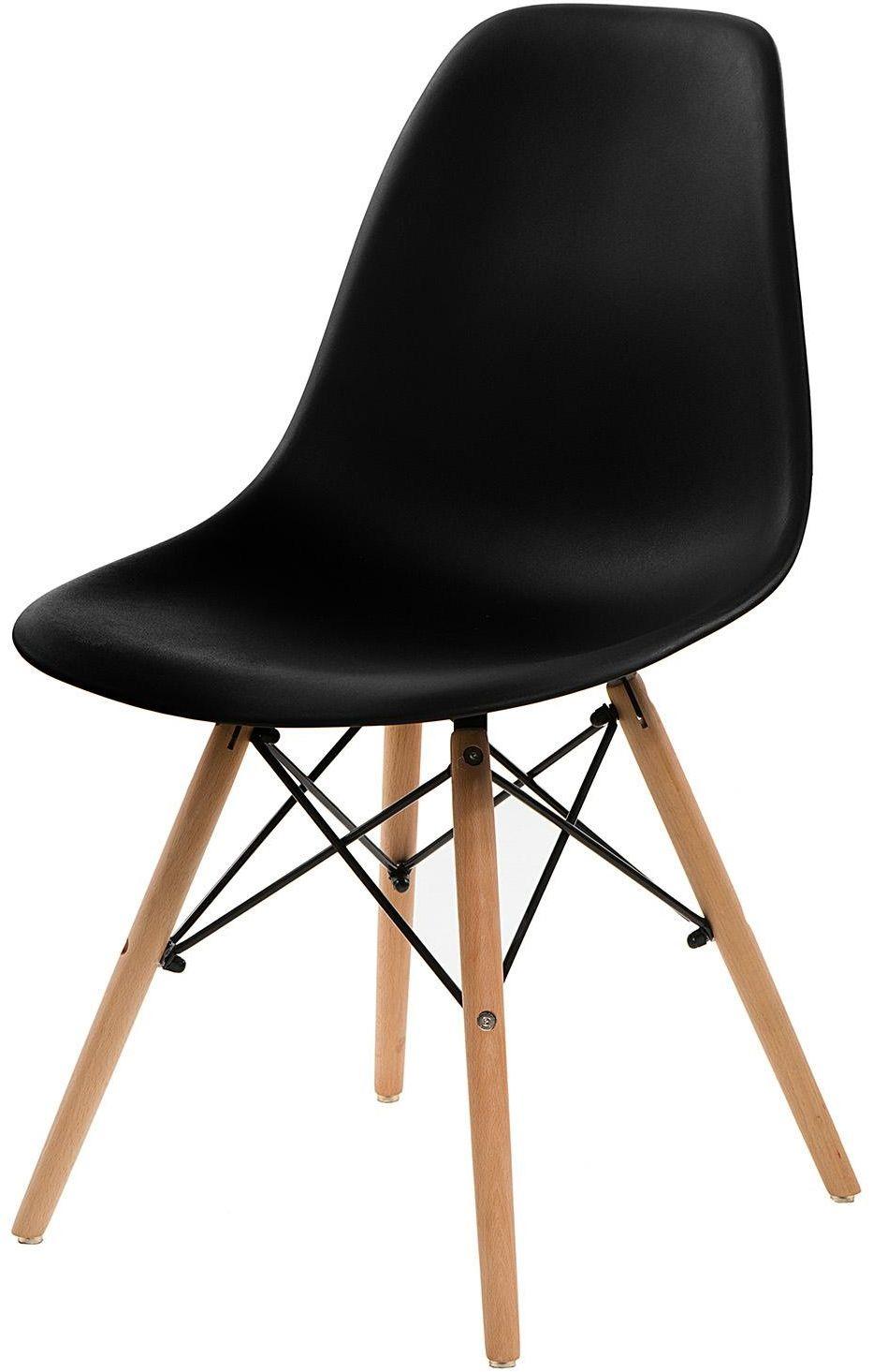 Krzesło P016W basic czarne Simplet