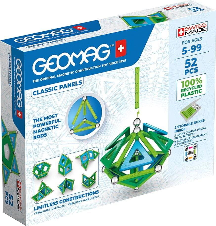 GeoMag - Klocki magnetyczne Eco Panels 52 el. 471
