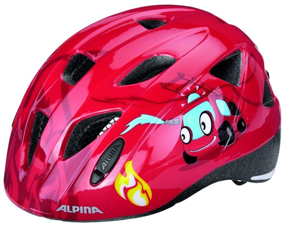 ALPINA Kask rowerowy dziecięcy XIMO FIREFIGHTER Rozmiar: 47-51,ximofreefighter