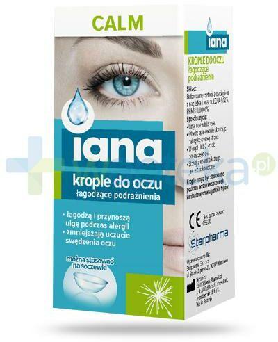 Iana Calm krople do oczu łagodzące podrażnienia 10 ml