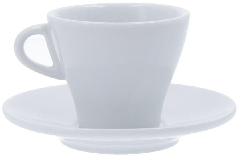 Filiżanka do cappuccino Club House Gardenia 185 ml - Biała