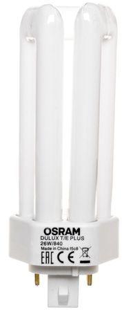 Świetlówka kompaktowa GX24q-3 (4-pin) 26W 4000K DULUX T/E PLUS 4050300342283