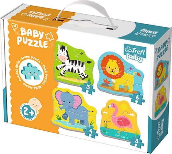 Puzzle Baby Classic Zwierzątka na safari ZAKŁADKA DO KSIĄŻEK GRATIS DO KAŻDEGO ZAMÓWIENIA
