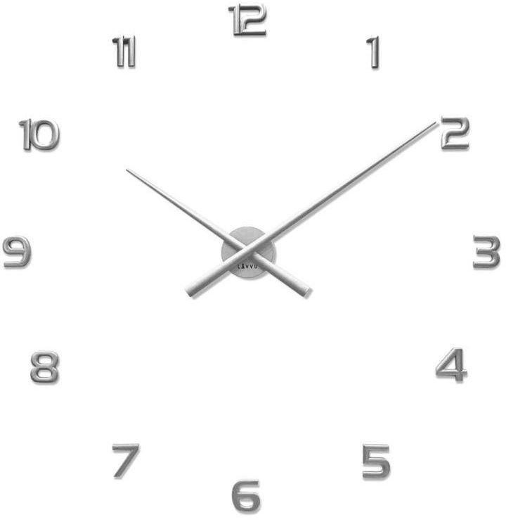 Zegar ścienny LAVVU LCT1171 naklejany na ścianę, szybę...