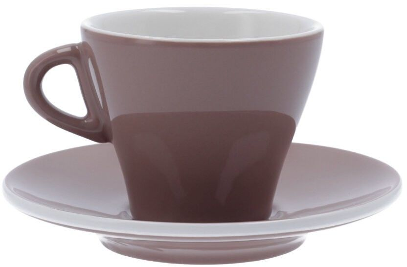 Filiżanka do cappuccino Club House Gardenia 185 ml - Brązowa