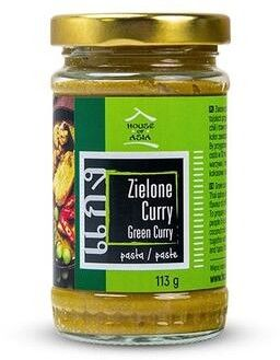 Pasta curry zielona 113g - House of Asia